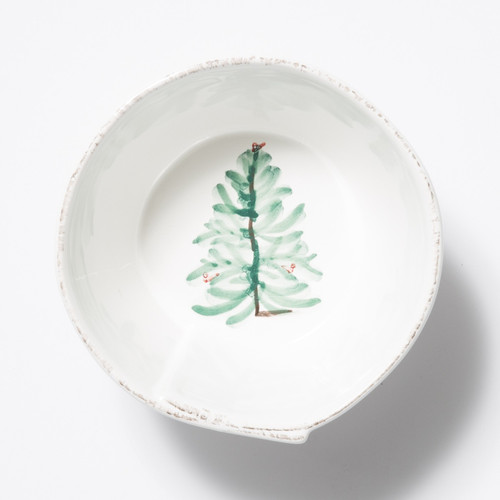 Vietri Lastra Holiday Stacking Cereal Bowl - Special Order