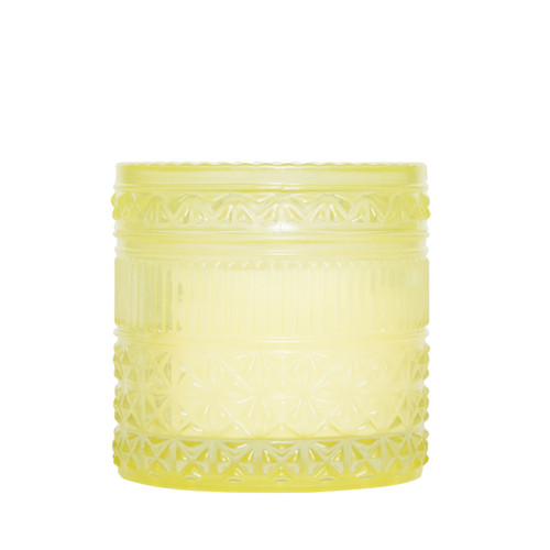 No. 3 Aloha Orchid 11 oz. Muse Faceted Jar Candle by Capri Blue
