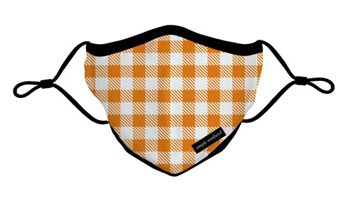 Fall Gingham Adult Mask by Simply Southern