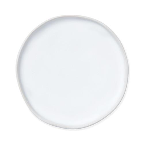 Vietri Bath Essentials White Matte Round Tray - Special Order
