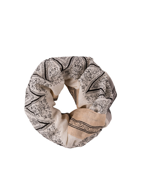 Henna Embroidered Infinity Scarf by Spartina 449
