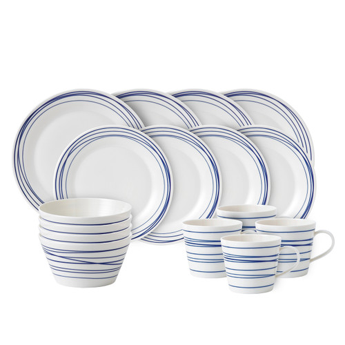 Pacific Lines 16-Piece Set by Royal Doulton - Special Order