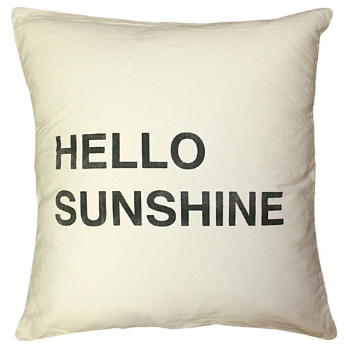 """24"""" X 24"""" Hello Sunshine Pillow by Sugarboo Designs - Special Order"""