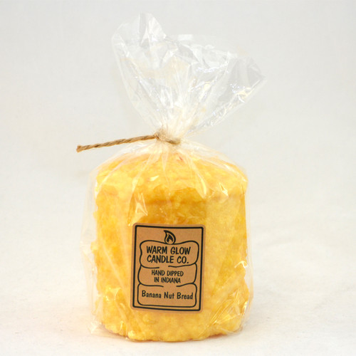 Banana Nut Bread Hearth Candle by Warm Glow Candles