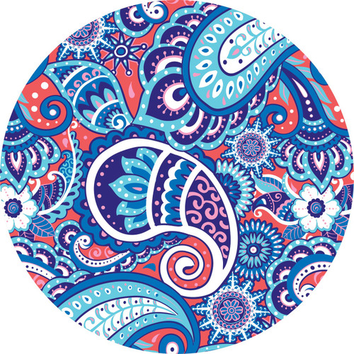 Paisley Car Coasters by Simply Southern