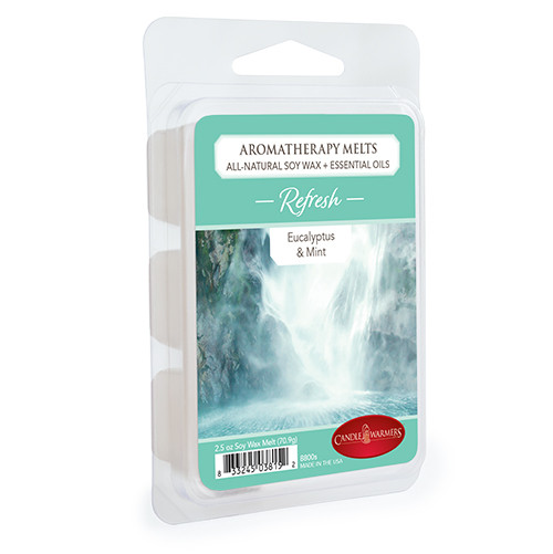 Refresh (Eucalyptus & Mint) Aromatherapy Wax Melt by Candle Warmers