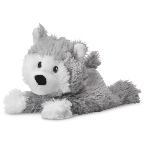 Warmies Junior Heatable & Lavender Scented Husky Stuffed Animal