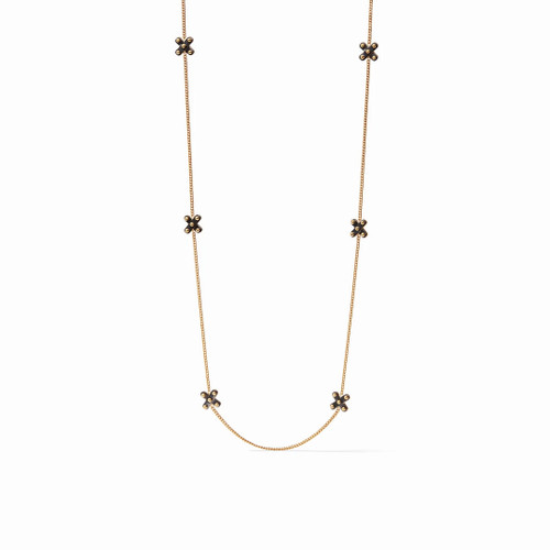 """Julie Vos SoHo 40"""" Station Necklace - Mixed Metal"""