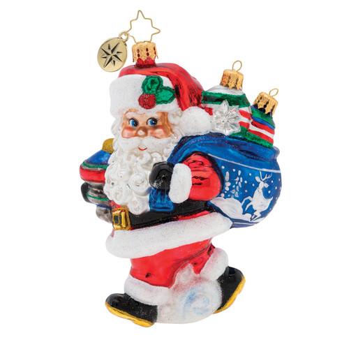 Santa's Shiny Brite Collection! Ornament by Christopher Radko