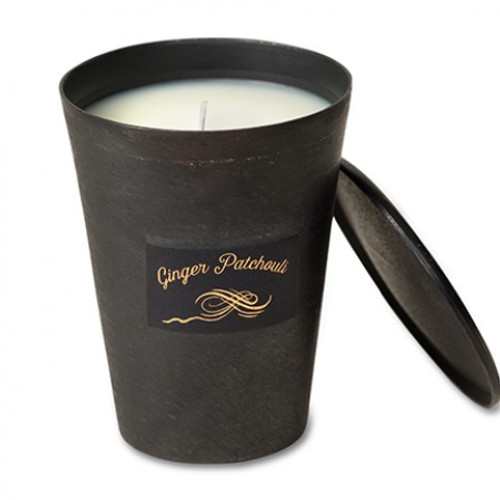 Ginger Patchouli 8 oz. Blacksmith Candle by Himalayan Candles