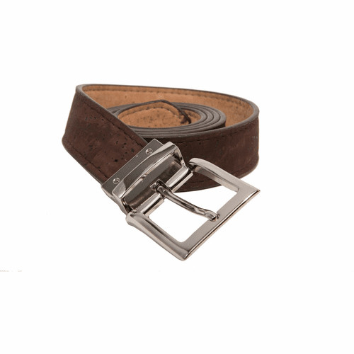 Queork Natural/Brown Reversible Belt 36