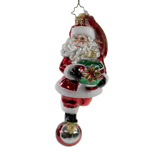 Rolling into the Holidays Ornament by Christopher Radko