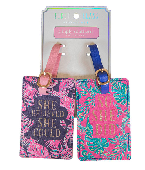 Paradise Luggage Tag by Simply Southern