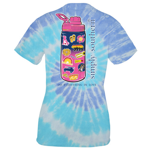 Small Tide Sticker Short Sleeve Tee by Simply Southern