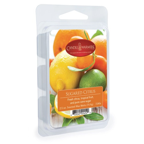Sugared Citrus Classic Wax Melt by Candle Warmers