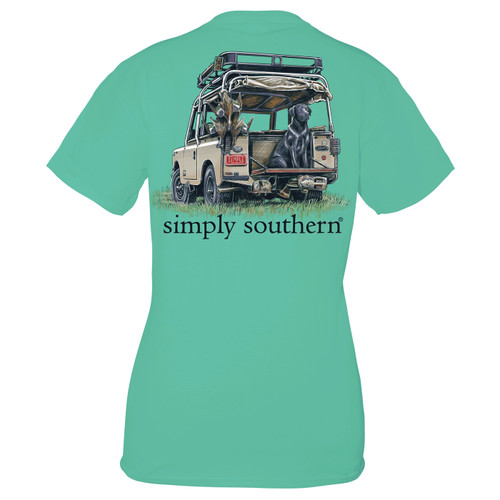 Large Sea Duck Lab Unisex Short Sleeve Tee by Simply Southern