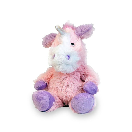 Warmies Junior Heatable & Lavender Scented Unicorn Stuffed Animal