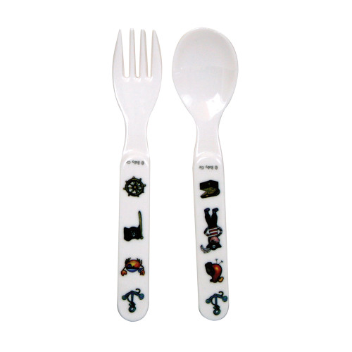 Pirate Fork and Spoon by Baby Cie