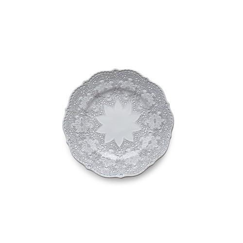 PRE-ORDER - Merletto White Salad/Dessert Plate - Arte Italica