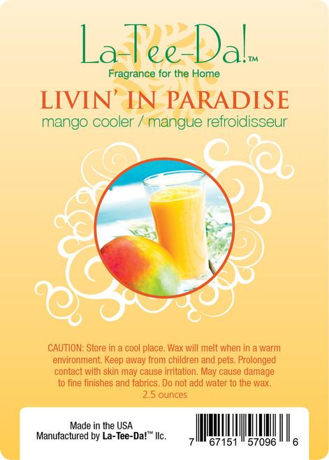 Livin' in Paradise Magic Melt by La Tee Da