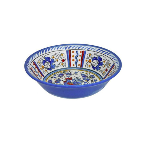 Rooster Blue Cereal Bowl by Le Cadeaux
