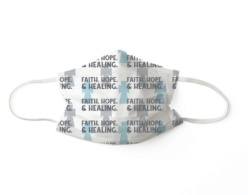 Faith, Hope & Healing Disposable 3-Layer Face Masks -Set of 7- by Pavilion