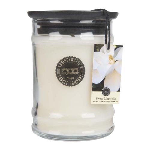 Sweet Magnolia Small Jar Candle - Bridgewater