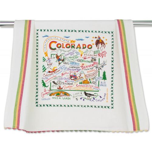 Colorado Dish Towel by Catstudio