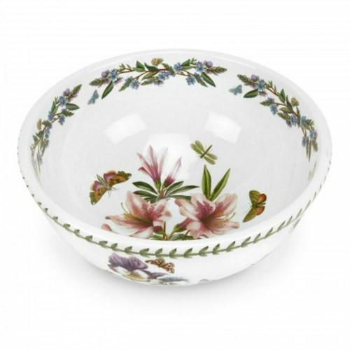 Botanic Garden Azalea Motif Large Salad Bowl by Portmeirion - Special Order