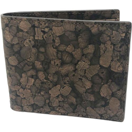 Queork Brown Cork Bifold Wallet