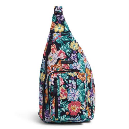 Sling Backpack Happy Blooms by Vera Bradley