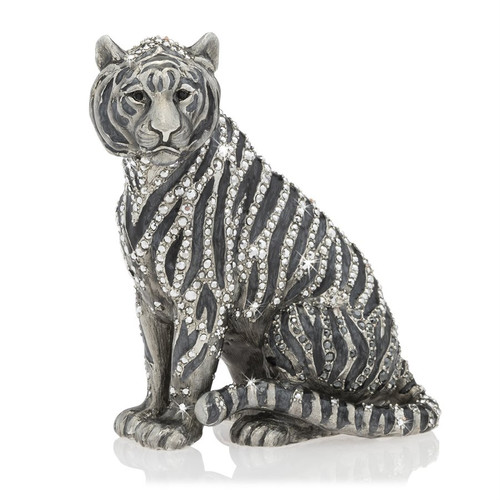 Jay Strongwater Parker Tiger Figurine - Special Order