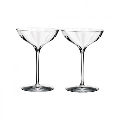 Elegance Optic Belle Coupe Pair by Waterford - Special Order