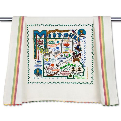 Missouri Dish Towel by Catstudio