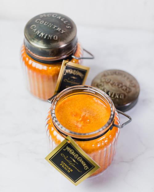 Ginger Peach 18 oz. McCalls Indulgence Candle 2-Pack