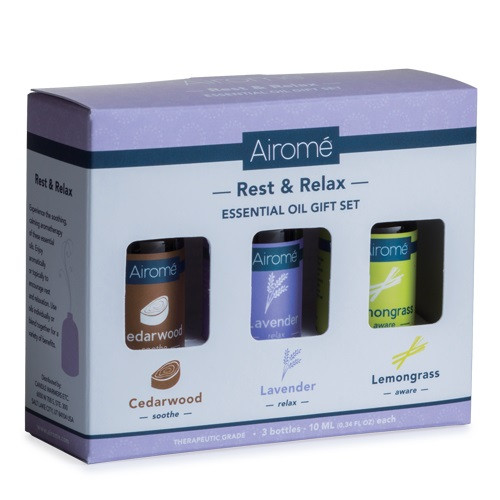 Rest & Relax Essential Oil Gift Set