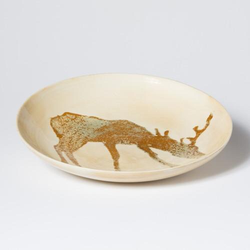 Vietri Foresta Deer Medium Bowl - Special Order