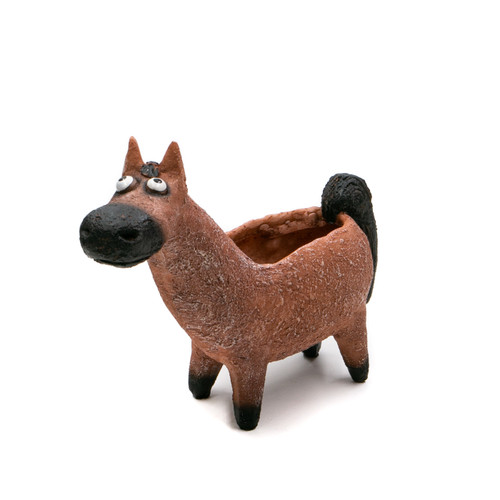 Georgetown Big Red, The Bay Horse Planter
