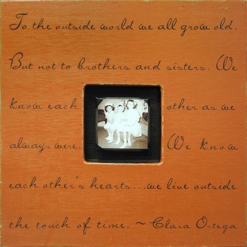 Terra Cotta To The Outside World Photobox by Sugarboo Designs - Special Order
