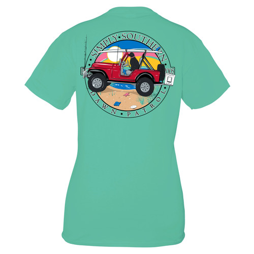 Small Sea Patrol Short Sleeve Tee by Simply Southern