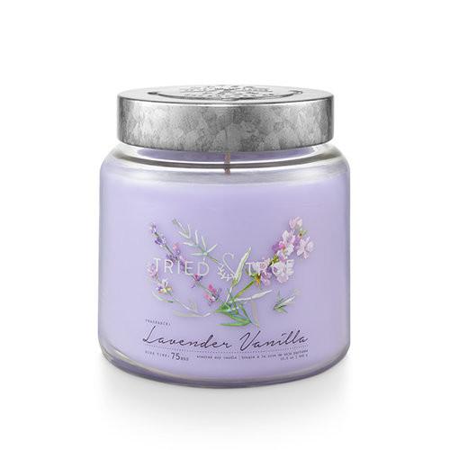 Lavender Vanilla 15.5 oz. Large Jar Candle by Tried & True