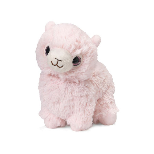 Warmies Junior Heatable & Lavender Scented Pink Llama Stuffed Animal