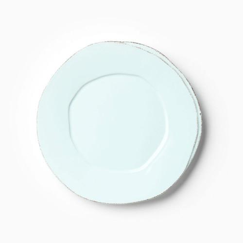Vietri Lastra Aqua Salad Plate - Special Order