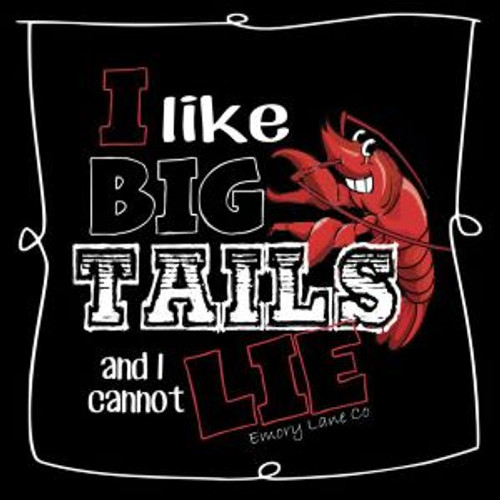 Extra Large I Like Big Tails Tee by Emory Lane