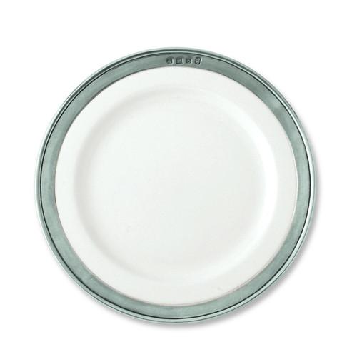 Convivio Salad/Dessert Plate by Match Pewter