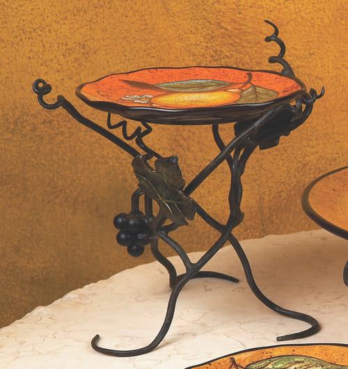 "Vineyard 8"" Raised Plate Server by Bella Toscana"