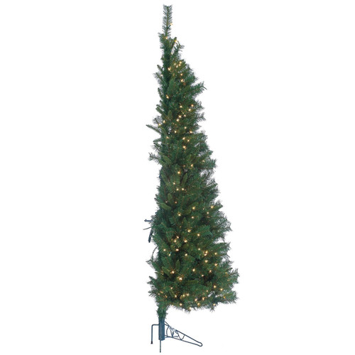 Tiffany 7 ft. Pine Wall Tree by Sterling Tree