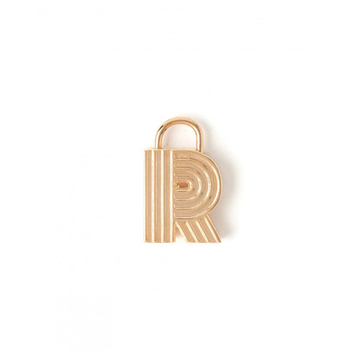 """Letter """"R"""" Padlock Charm - Style Spartina 449"""