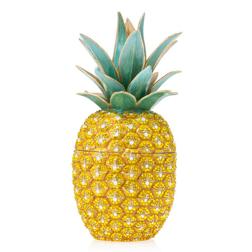 Jay Strongwater Ana Pineapple Box - Special Order