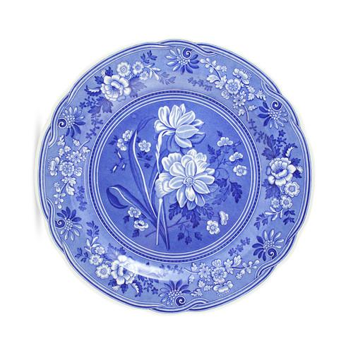 Blue Room Set of 6 Georgian Plates by Spode -